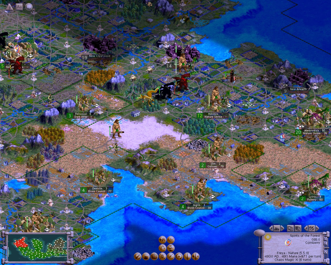 Civilization 3 - Master of Magic Mod | The Best Games Ever