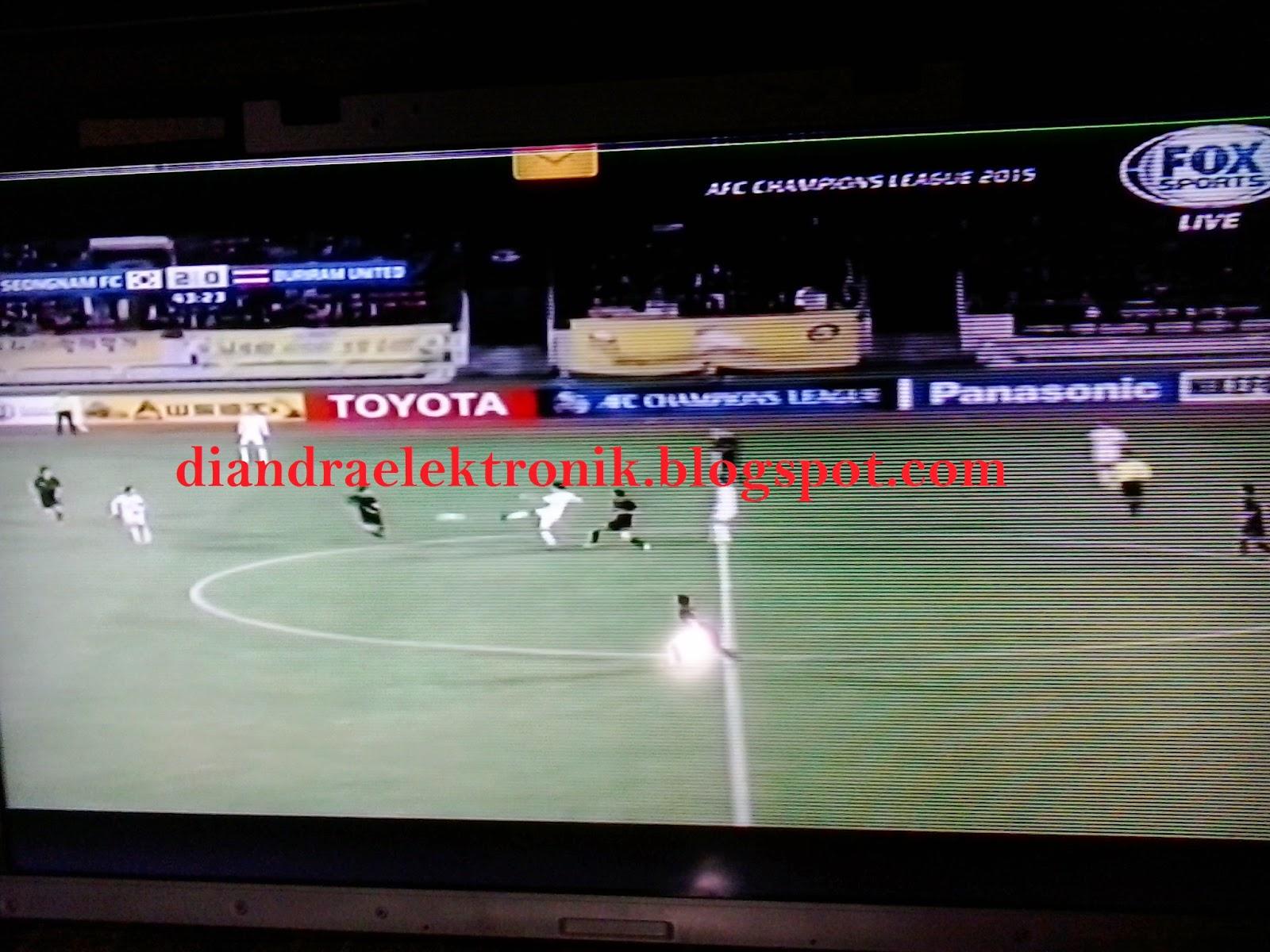 Layar Tv Lcd Samsung Bergaris Horizontal
