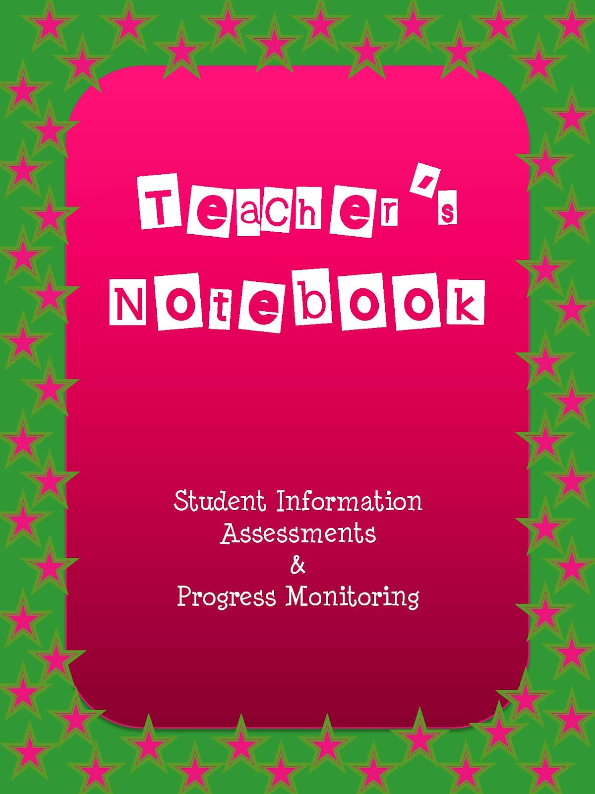 The Lower Elementary Cottage: Student Information Binder
