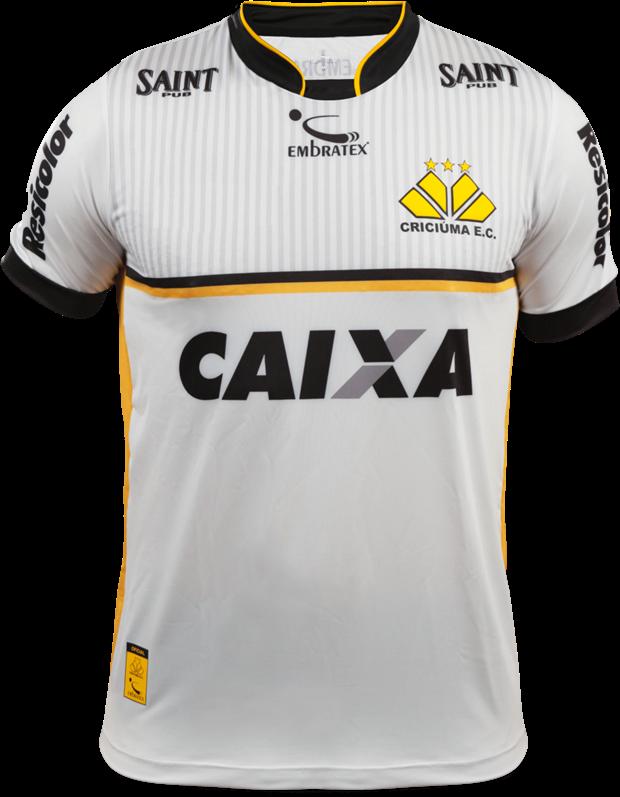 62a9841bae Embratex divulga as novas camisas do Criciúma - Show de Camisas
