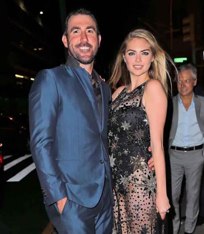 Kate Upton wears thong bodysuit for 24th birthday celebrations in NYC