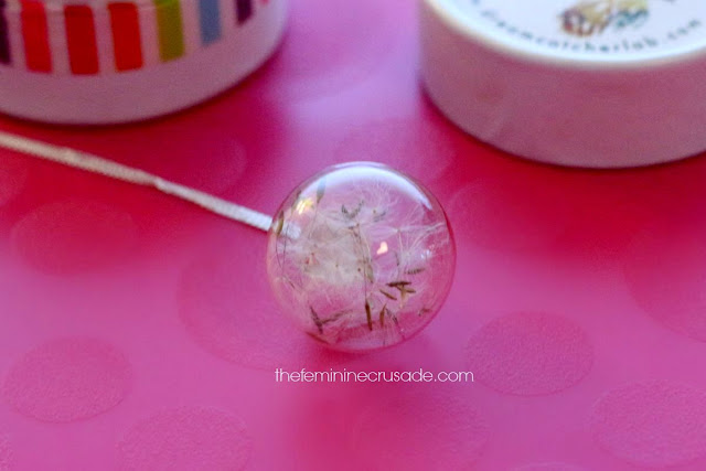 Dream Catcher Lab Eco Dandelion Necklace