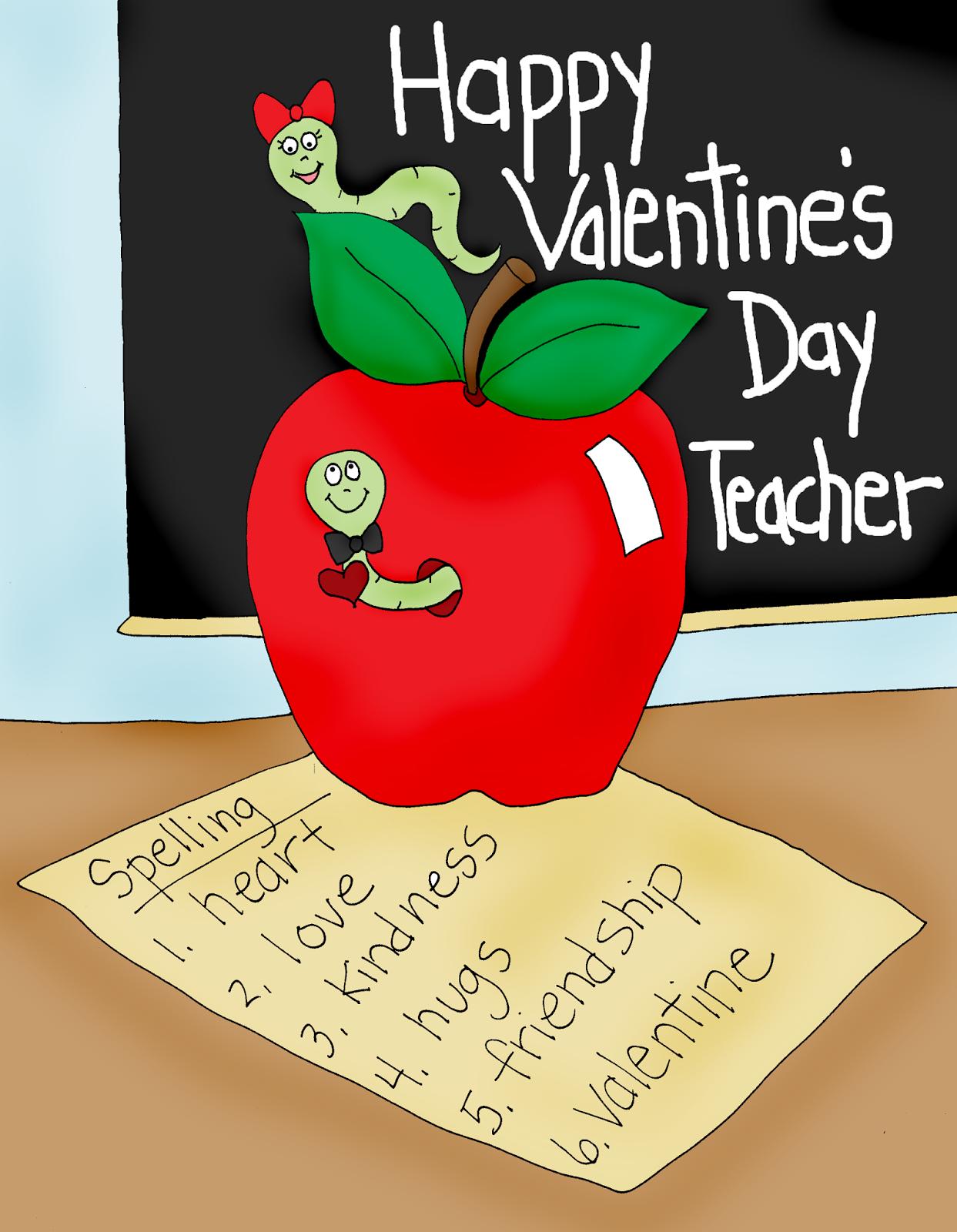 Free Dearie Dolls Digi Stamps Apple For Teacher Valentine