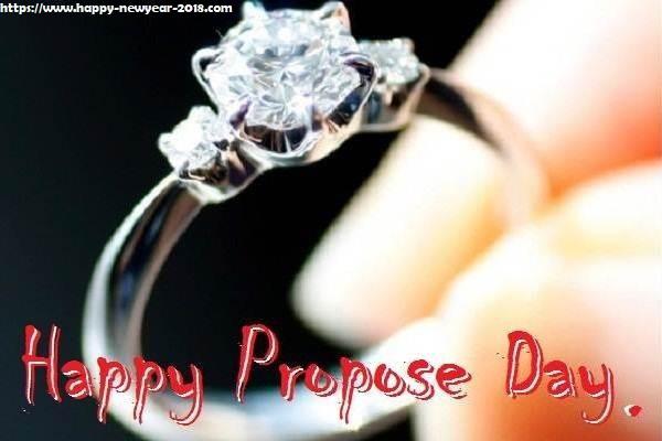 beautiful propose day ring