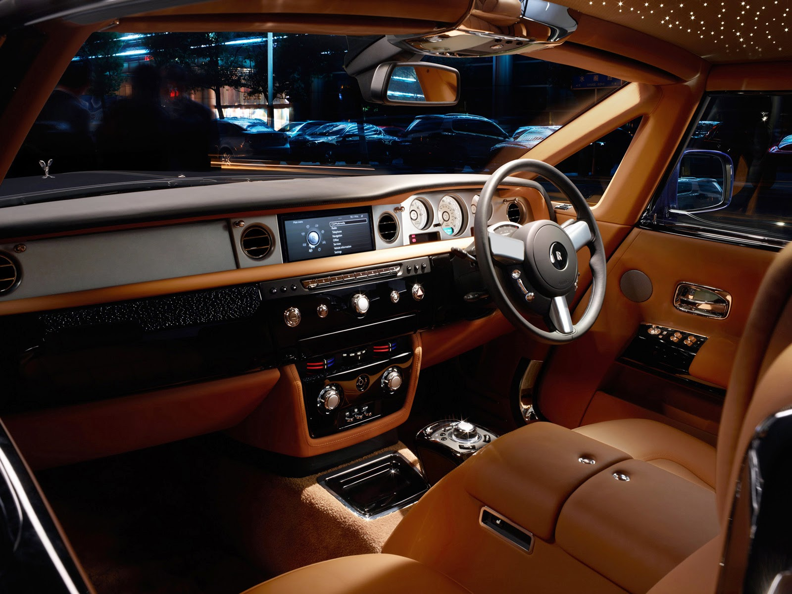 Rolls Royce Phantom Interior 2017