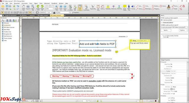 PDF-XChange Editor Plus Offline Setup Free Download