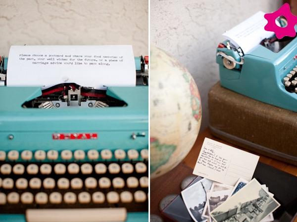 Cantinhos-de-recados-para-os-convidados-no-casamento-maquina-de-escrever