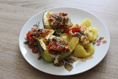Zucchini and potatoes