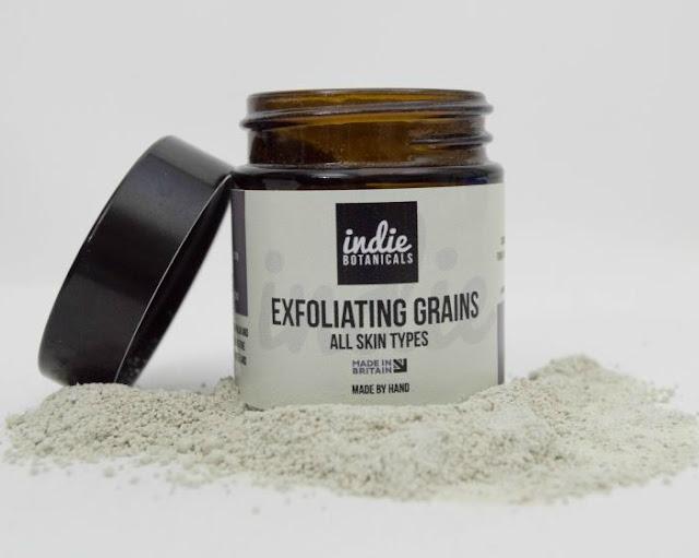 Interview with Indie Botanicals exfoliating grains