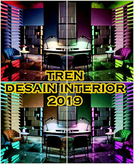 mengintip desain interior yang tren di tahun  Mengintip Tren Desain Interior 2019