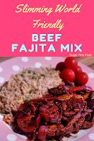 beef fajita mix  slimming world recipe