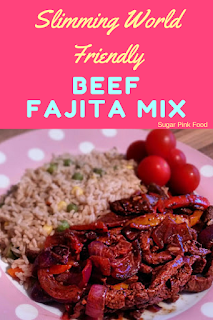 beef fajita mix  slimming world recipe