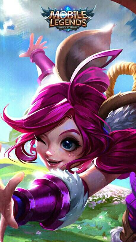 wallpaper mobile legend Nana hd for android