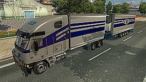 Tandem for Freightliner Argosy