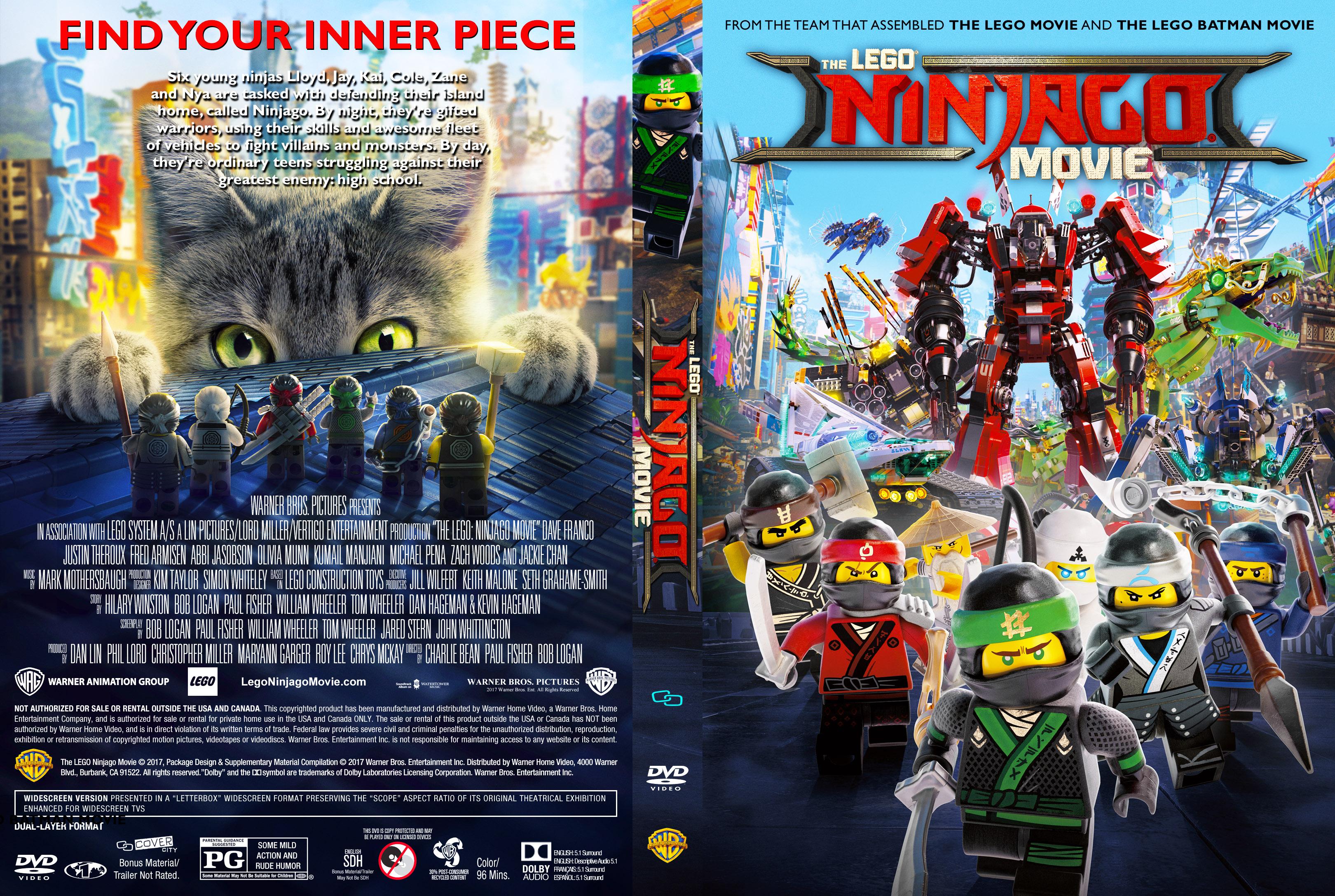 ninjago movie dvd