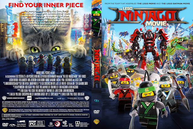 The LEGO Ninjago Movie DVD Cover