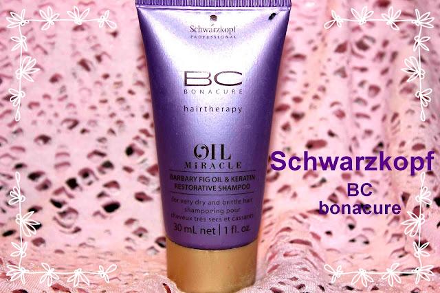 Отзыв: Восстанавливающий шампунь с маслом берберийской фиги и кератином - Scharzkopf BC Bonacure Oil Miracle Barbary Fig Oil Shampoo.