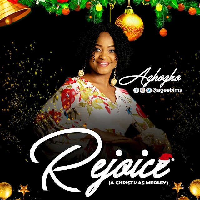 "Aghogho wraps up the year with a new christmas medley ""Rejoice""  