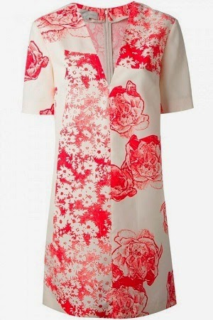 stella mccartney floral print dress