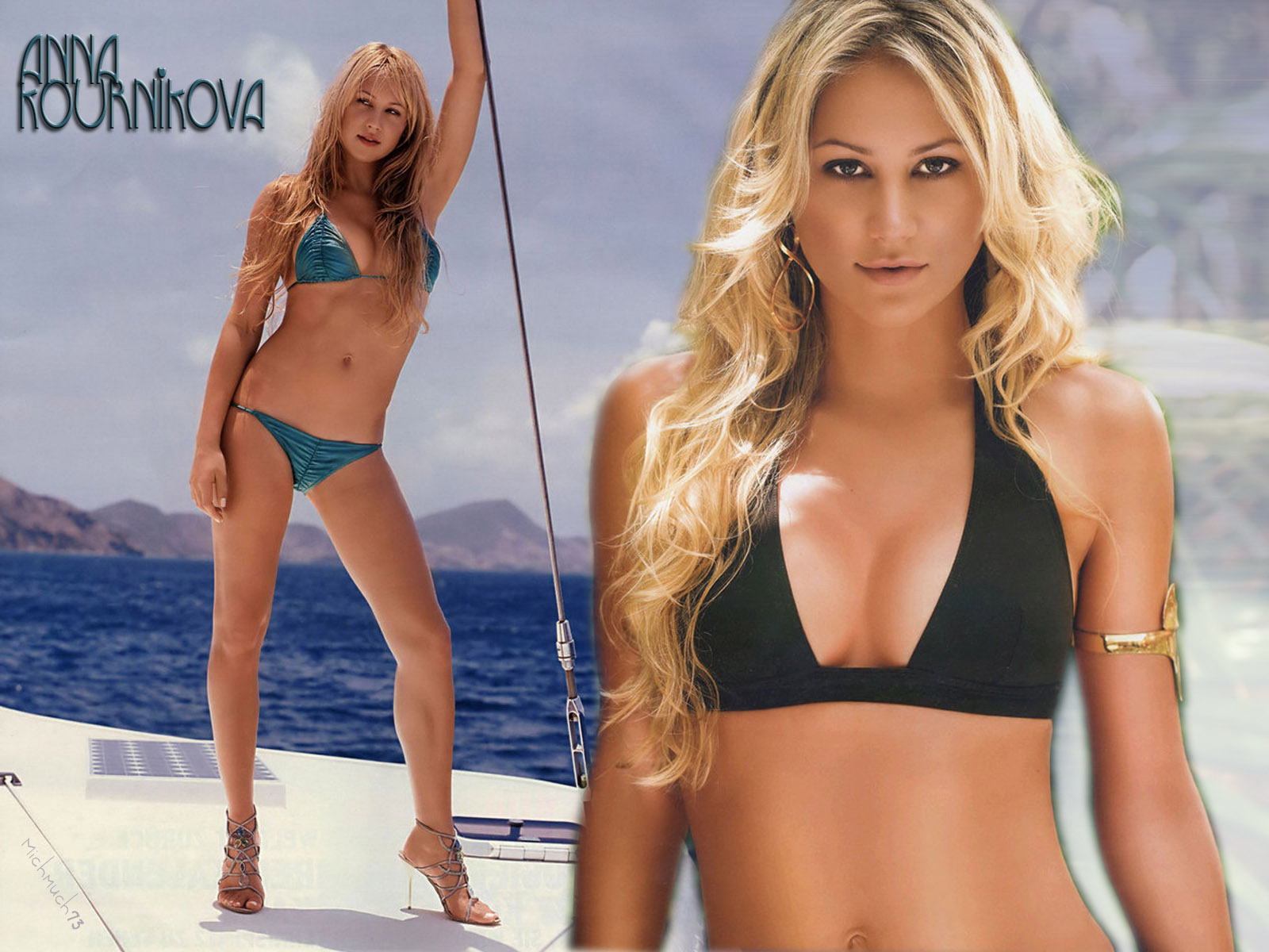 HD Wallpapers: Anna Kournikova Hot