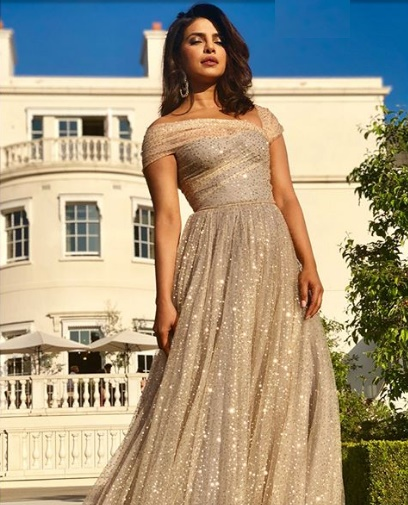 Priyanka Chopra in Prince Harry and Meghan Markle Wedding Pics, Images, Photos