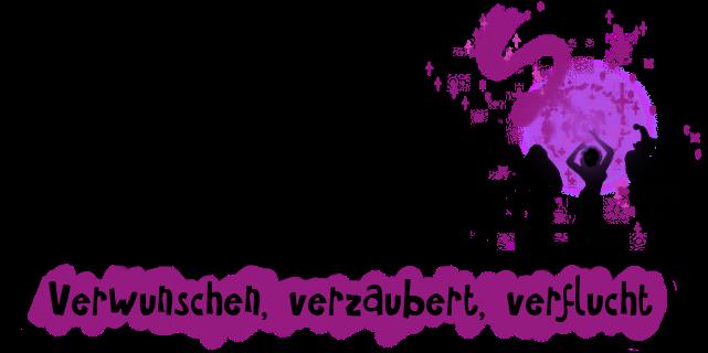 Logo des Karnevals der Rollenspielblogs im Januar 2017: Verwunschen, verzaubert, verflucht.