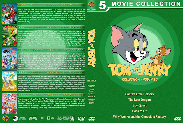 Tom and Jerry Collection - Volume 3 DVD Cover