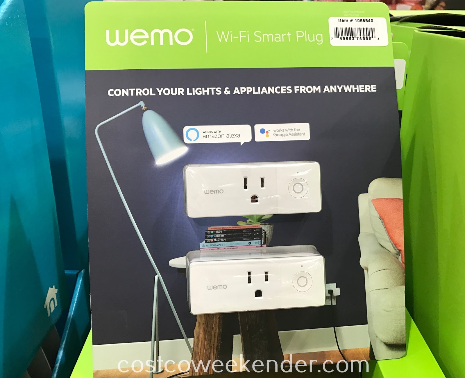 Have more control over your home even when you're not home with the Belkin Wemo Mini Wi-Fi Smart Plug