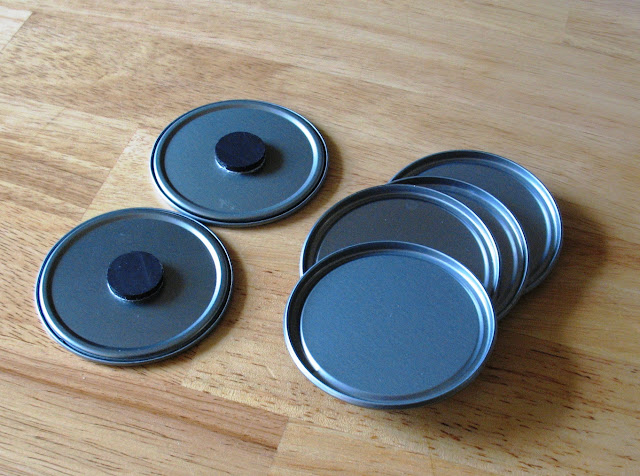 Juice Can Lid Magnets