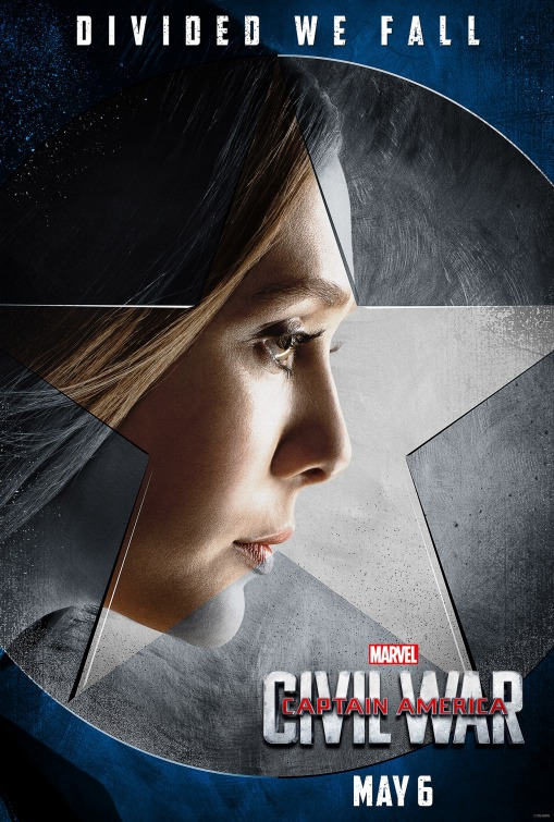 Scarlet Witch Captain America Civil War poster