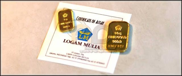 cara beli emas Antam gambar