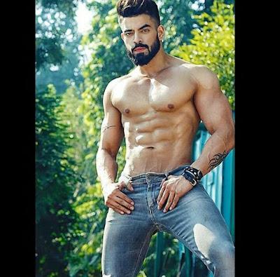 Hot Indian Male Model Sachin Bhardwaj