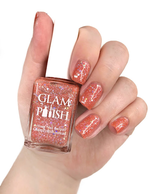 Glam Polish Prophecy 25 Sweetpeas