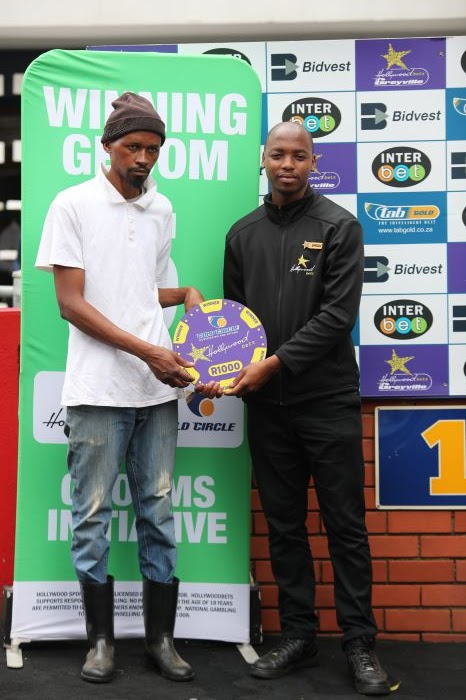 Grooms Initiative Winner - 29th December 2019 - Race 3 - Mpilo Nxazonke - CARBON FIBRE