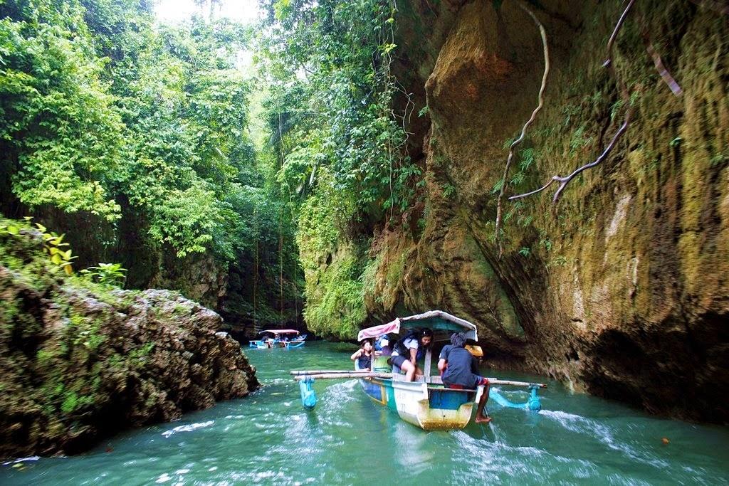 Tempat Wisata Green Canyon Di Ciamis Yang Seru