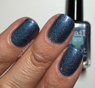 Nail Hoot Space Galaxy Trio Part II; Nebula