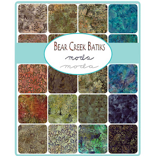 Moda Bear Creek Batiks Fabric by Moda Fabrics