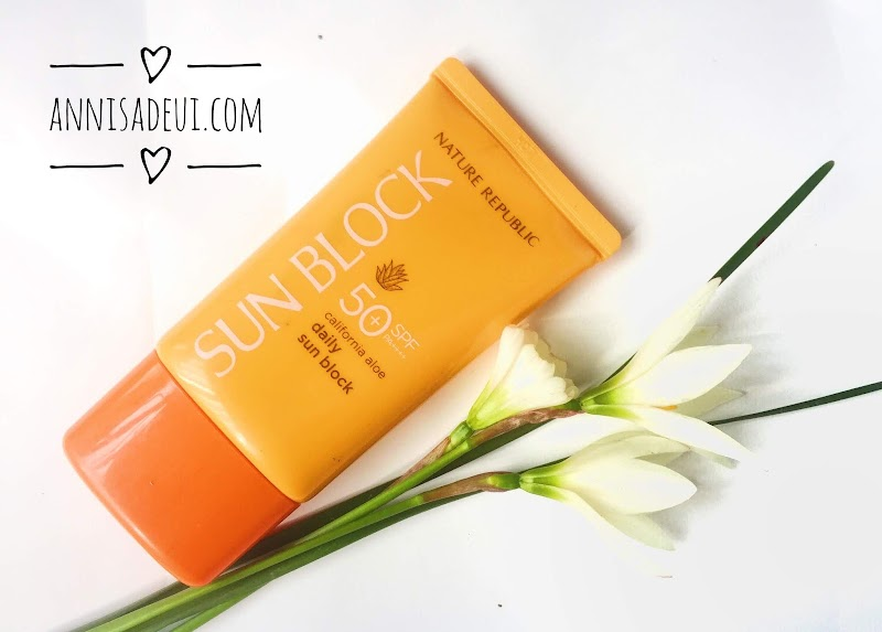 Nature Republic California Daily Sun Block SPF 50 PA ++++ Review