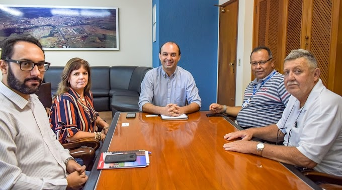 Gerente executivo do INSS visita a cidade de Bebedouro