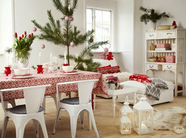 scandinavian-swedish-style-christmas-decor-tree-beautiful-room-red-white-lanterns