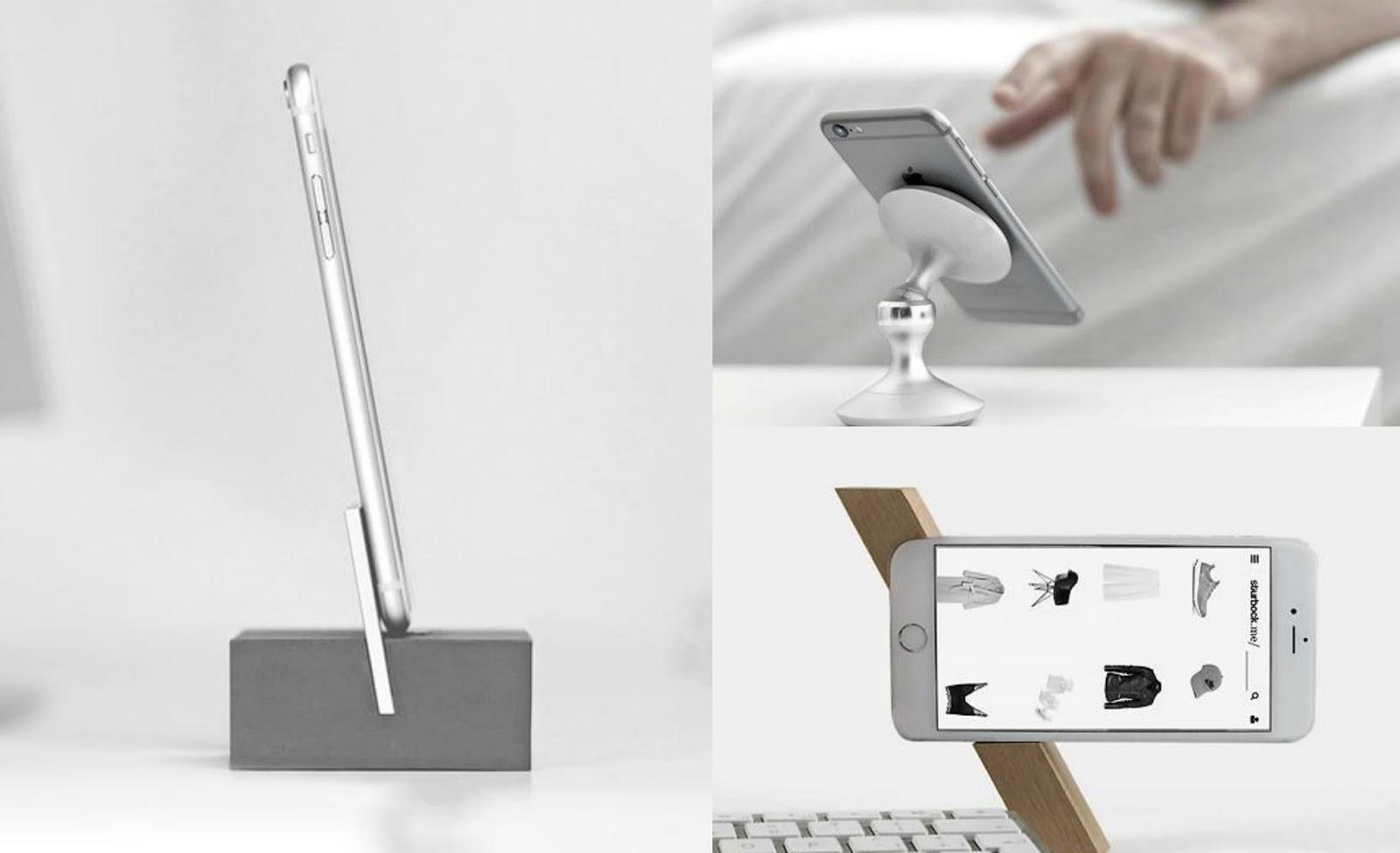 Phone Stands Design | Cleo-inspire