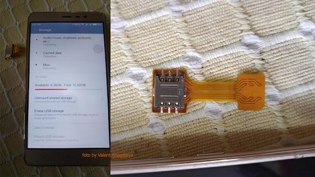 2 SIM + MicroSD Secara Bersamaan di Smartphone Xioami Tanpa Memodifikasi Kartu SIM Coba Dual SIM Converter Berikut Ini