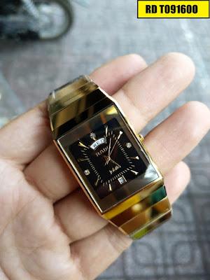 Đồng hồ Rado dây đá ceramic vàng cực kỳ sang trọng và nổi bật