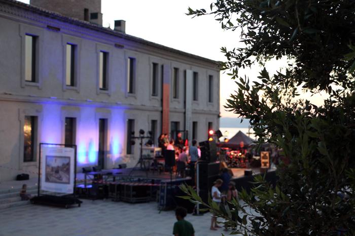 Marseille Fort Saint-Jean Konzert