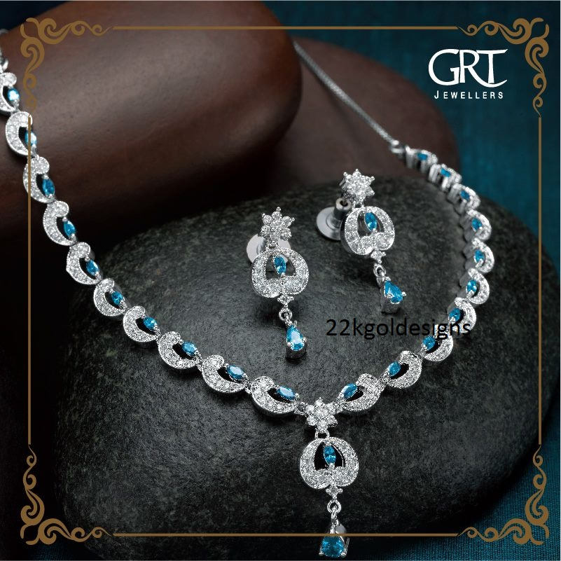 GRT Silver Jewellery set - 22kGoldDesigns