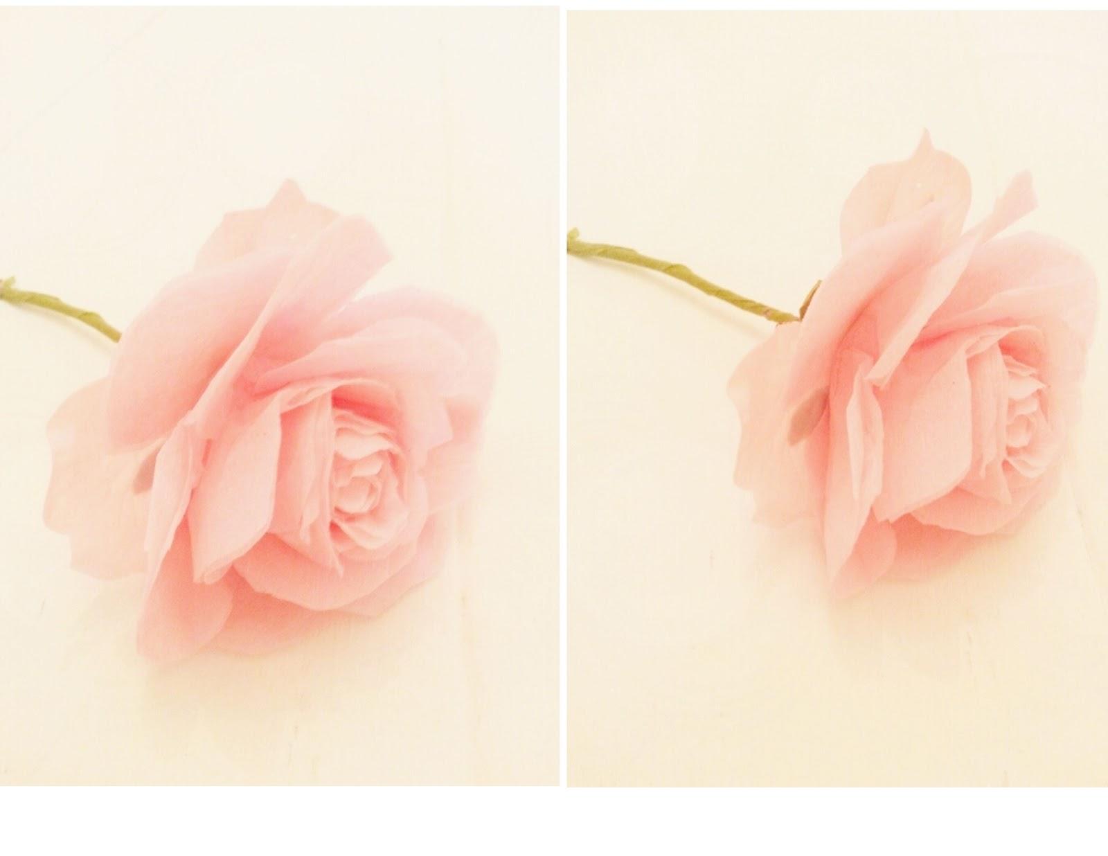 paper roses template twigg studios