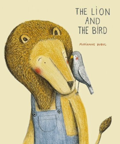The Lion And The Bird, part of children's book list about spring and changing seasons