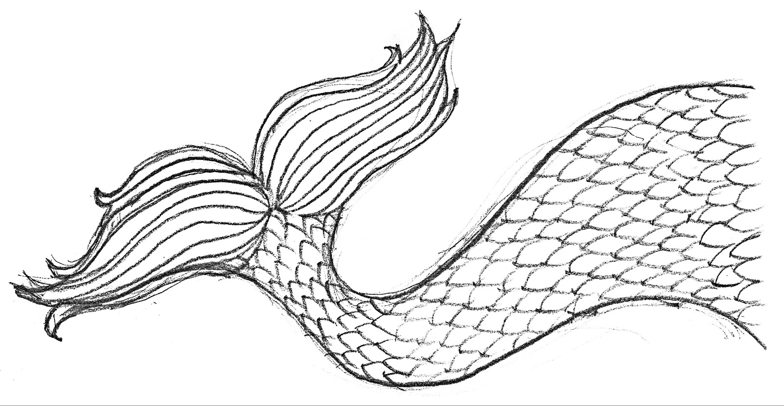 image relating to Mermaid Tail Template Printable referred to as SewPaperPaint: Free of charge Printable Mermaid Tail Steel Card