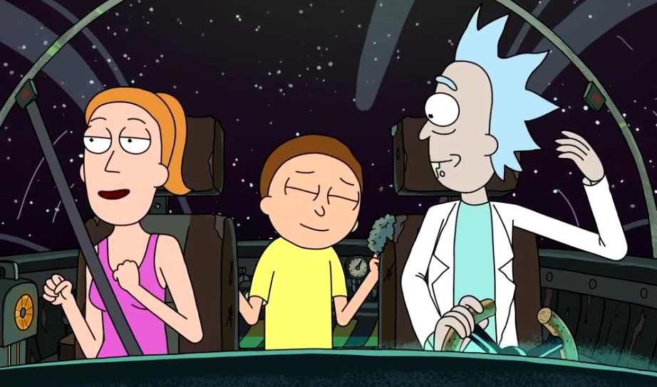 Rick and morty auto erotic assimilation