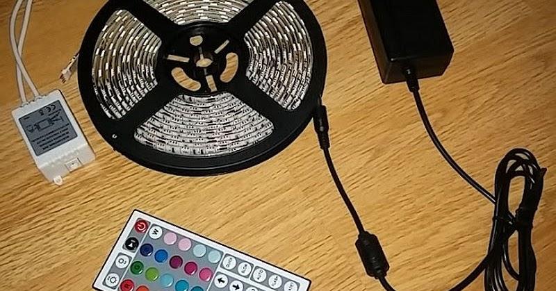 produkttests und mehr test le 5m led streifen rgb set led strip mit 300 leds 5050 mehrfarbig. Black Bedroom Furniture Sets. Home Design Ideas